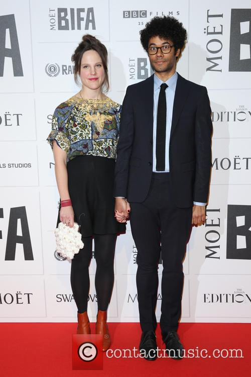 Lydia Fox and Richard Ayoade 1