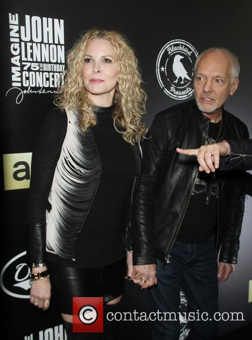 Peter Frampton and Robin Rains