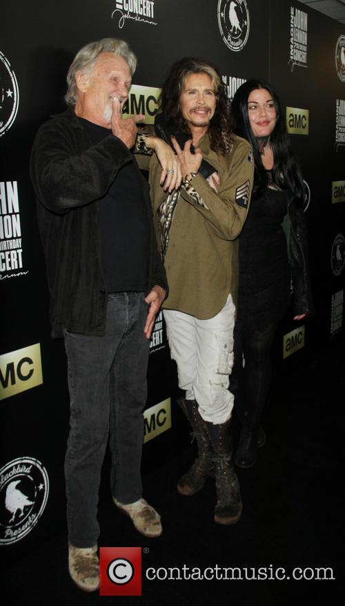 Kris Kristofferson, Steven Tyler and Mia Tyler 6