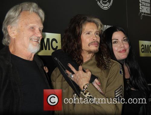 Kris Kristofferson, Steven Tyler and Mia Tyler 9