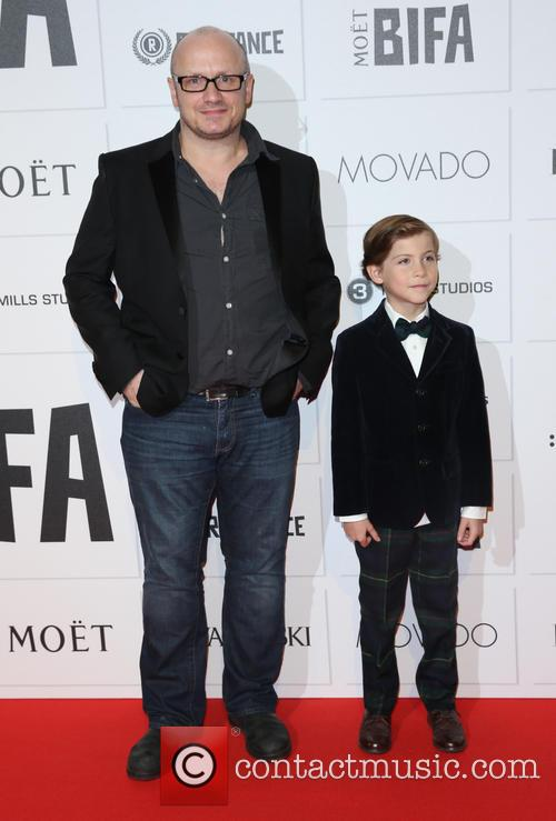 Lenny Abrahamson and Jacob Tremblay 2
