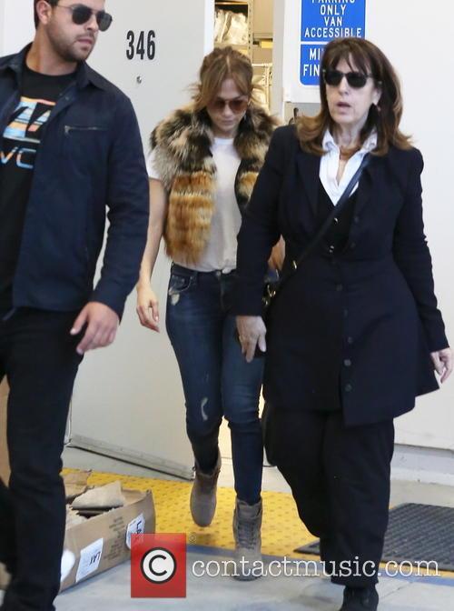 Jennifer Lopez at Barney's New York