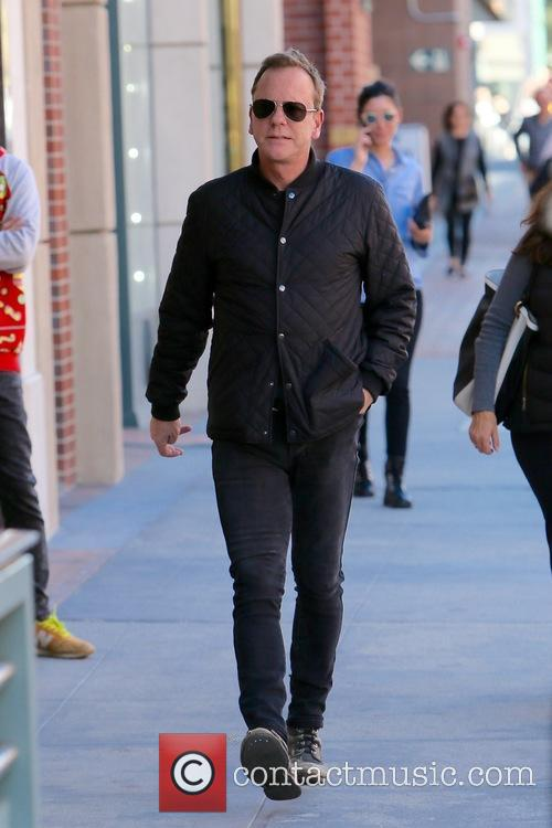 Kiefer Sutherland seen going to the doctors in...