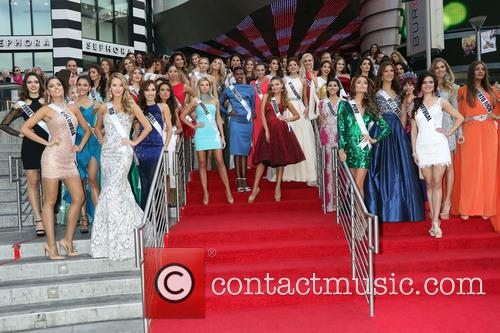 2015 Miss Universe welcome event