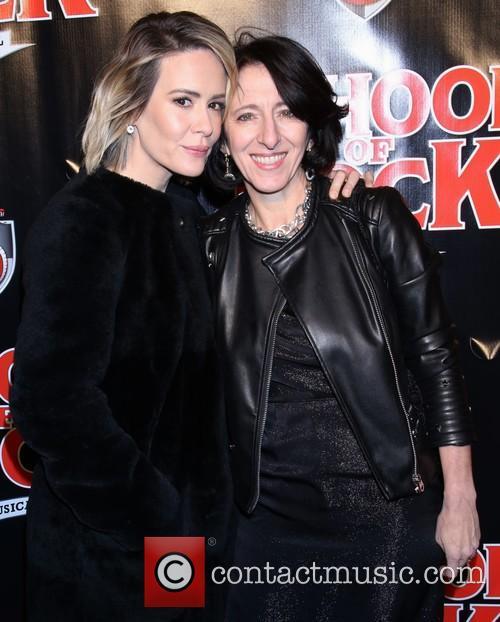 Sarah Paulson and Anna Louizos 1