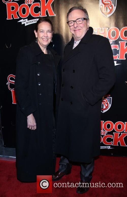 Harriet Harris and Edward Hibbert