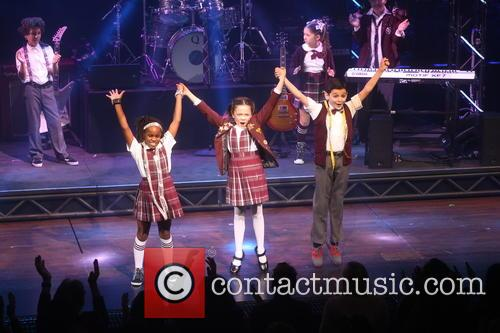 School of Rock Opening Night Curtain Call