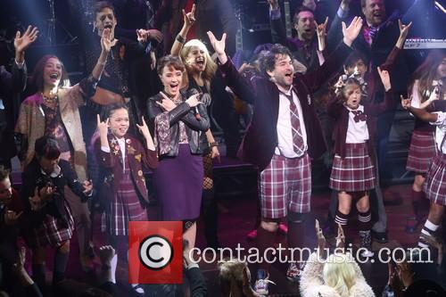 Sierra Boggess, Alex Brightman and Cast 2