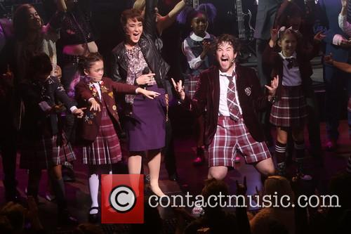Sierra Boggess, Alex Brightman and Cast 4