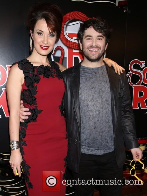 Sierra Boggess and Alex Brightman 5