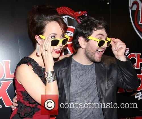 Sierra Boggess and Alex Brightman 8