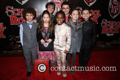 Brandon Niederauer, Carly Gendell, Dante Melucci, Bobbi Mackenzie, Jared Parker, Isabella Russo and Luca Padovan 1