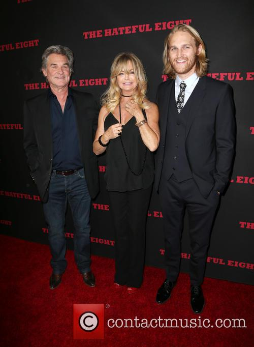 Kurt Russell, Goldie Hawn and Wyatt Russell 1