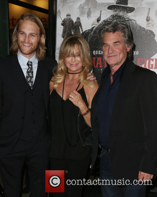 Wyatt Russell, Goldie Hawn and Kurt Russell 1