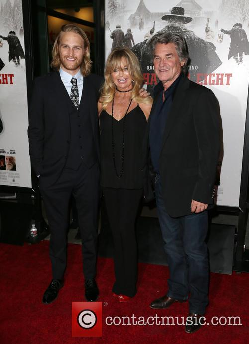 Wyatt Russell, Goldie Hawn and Kurt Russell 2