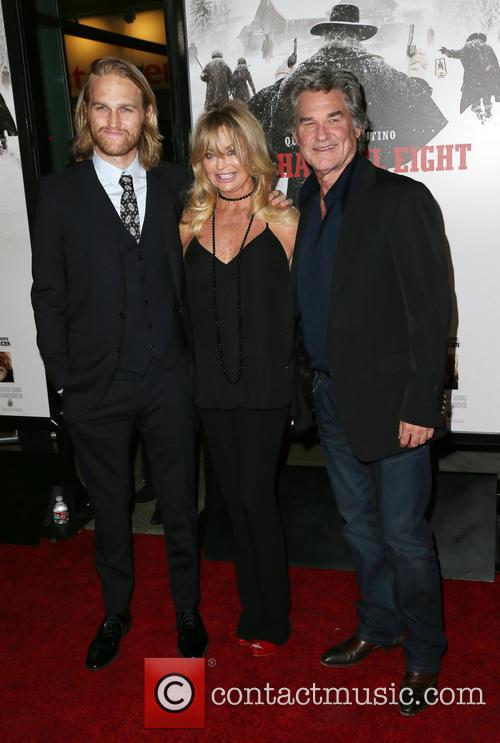 Wyatt Russell, Goldie Hawn and Kurt Russell 3
