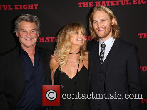 Kurt Russell, Goldie Hawn and Wyatt Russell 2