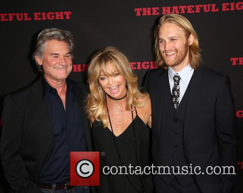 Kurt Russell, Goldie Hawn and Wyatt Russell 3