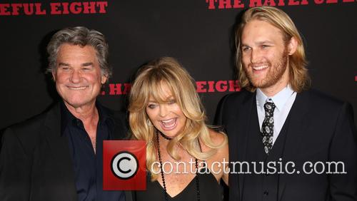 Kurt Russell, Goldie Hawn and Wyatt Russell 4