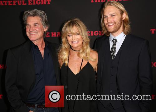 Kurt Russell, Goldie Hawn and Wyatt Russell 5