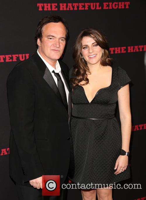 Quentin Tarantino and Courtney Hoffman 5