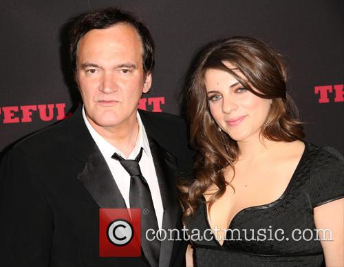 Quentin Tarantino and Courtney Hoffman 7