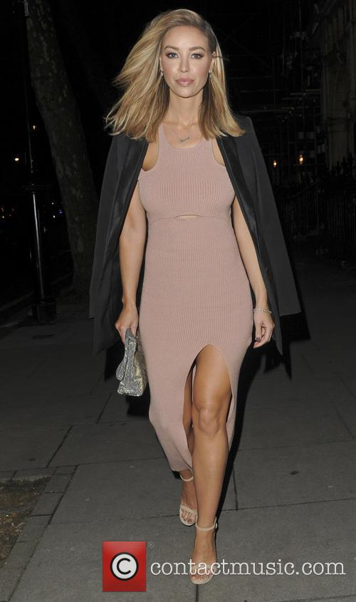 Lauren Pope Out and About in London
