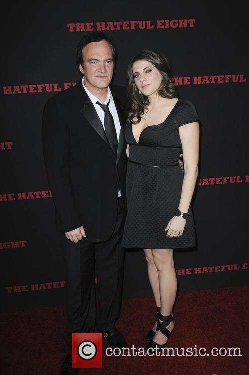 Quentin Tarantino and Courtney Hoffman 2