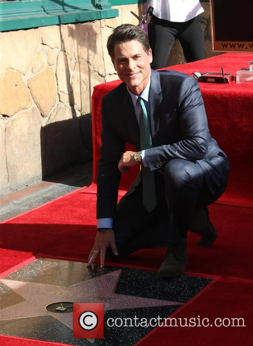 Rob Lowe Receives Star On Hollywood Walk Of Fame