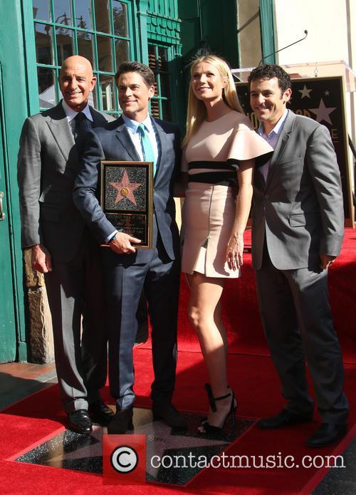 Tom Barrack, Rob Lowe, Gwyneth Paltrow and Fred Savage 1