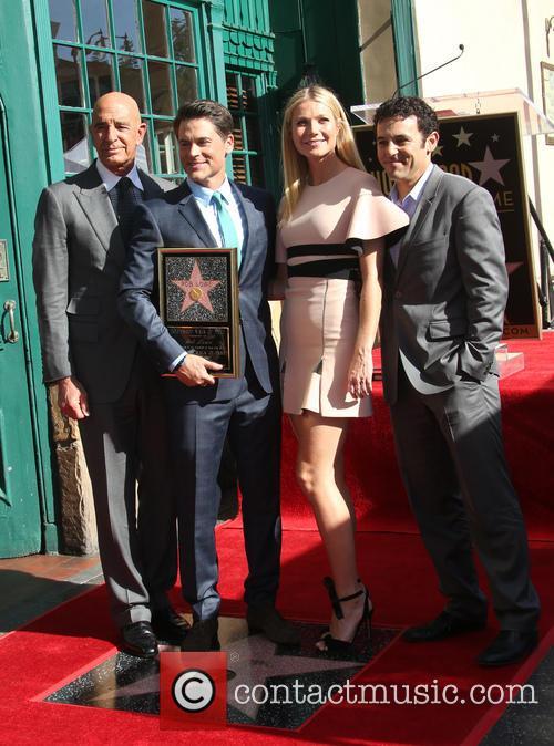 Tom Barrack, Rob Lowe, Gwyneth Paltrow and Fred Savage 2