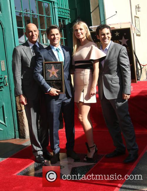 Tom Barrack, Rob Lowe, Gwyneth Paltrow and Fred Savage 3