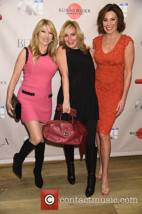 Ramona Singer, Sonja Morgan and Countess Luann De Lesseps 1