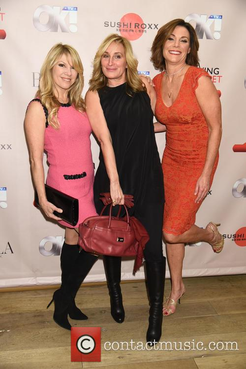 Ramona Singer, Sonja Morgan and Countess Luann De Lesseps 2