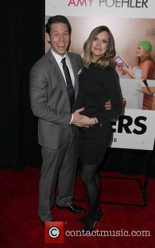 Ike Barinholtz and Erica Hanson