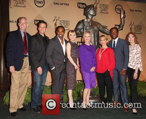 Daryl Anderson, Woody Schult, Jason George, Anna Faris, Jobeth Williams, Gabrielle Carteris, Anthony Mackie and Kathy Connell 1