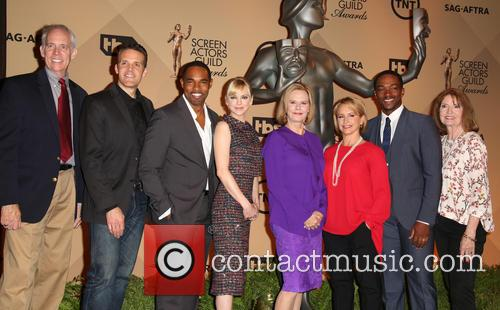 Daryl Anderson, Woody Schult, Jason George, Anna Faris, Jobeth Williams, Gabrielle Carteris, Anthony Mackie and Kathy Connell 2