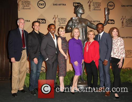 Daryl Anderson, Woody Schult, Jason George, Anna Faris, Jobeth Williams, Gabrielle Carteris, Anthony Mackie and Kathy Connell 3