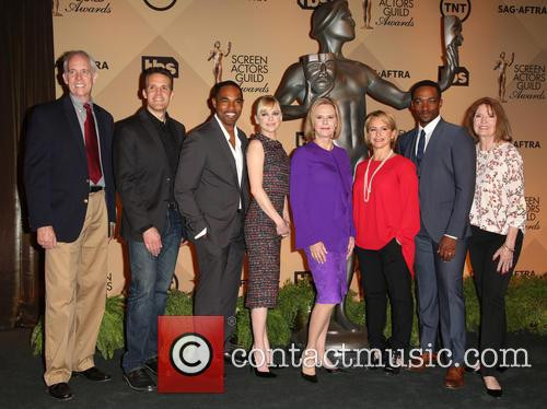Daryl Anderson, Woody Schult, Jason George, Anna Faris, Jobeth Williams, Gabrielle Carteris, Anthony Mackie and Kathy Connell 4
