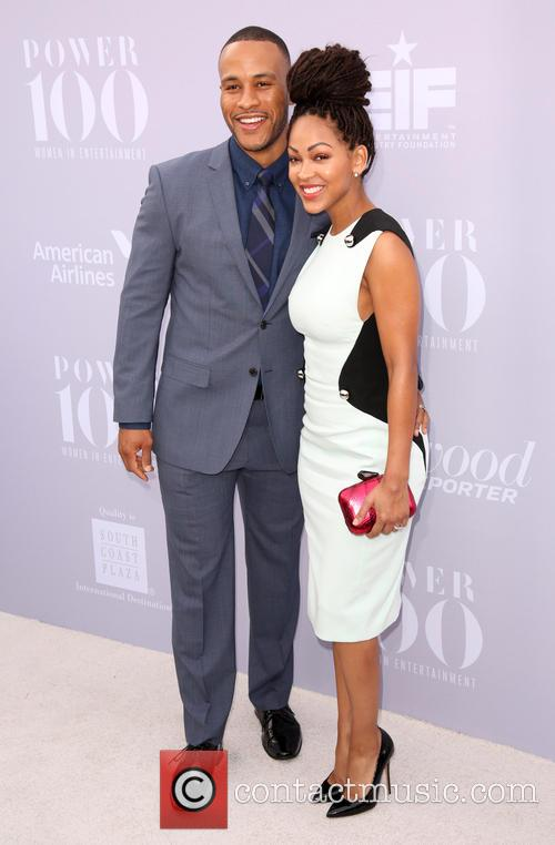 Devon Franklin and Meagan Good 1