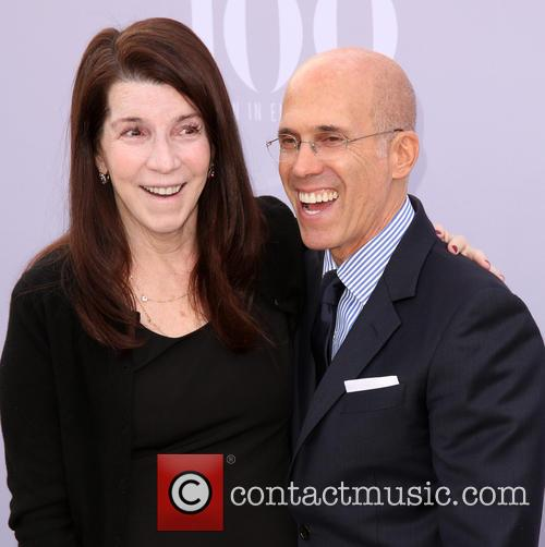 Nanci Ryder and Jeffrey Katzenberg 1
