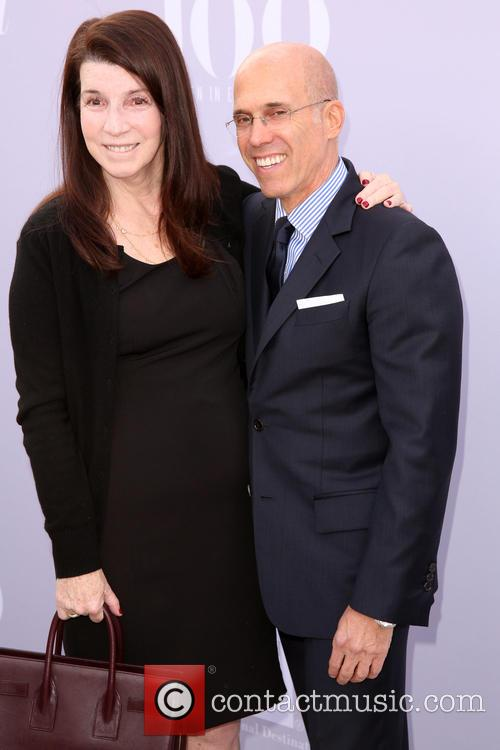 Nanci Ryder and Jeffrey Katzenberg 2