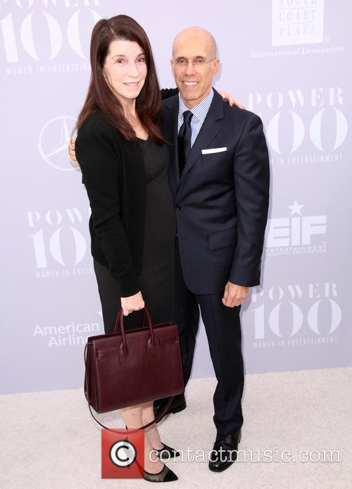 Nanci Ryder and Jeffrey Katzenberg 4