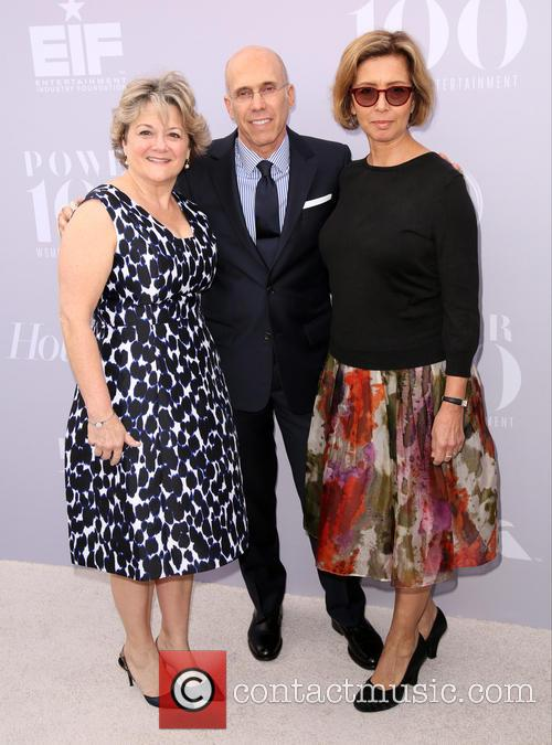 Bonnie Arnold, Jeffrey Katzenberg and Mireille Soria 2
