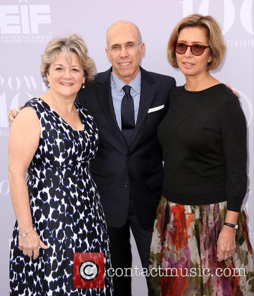 Bonnie Arnold, Jeffrey Katzenberg and Mireille Soria 3