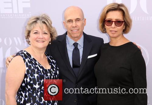 Bonnie Arnold, Jeffrey Katzenberg and Mireille Soria 4