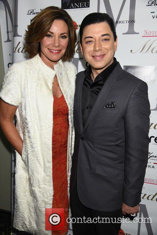 Countess Luann De Lesseps and Malan Breton 1