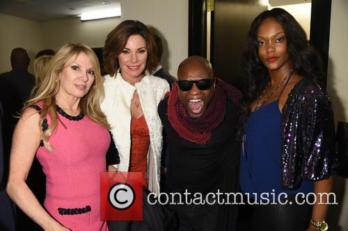 Ramona Singer, Countess Luann De Lesseps, Jerry Wonda and Yveline Dossous 1