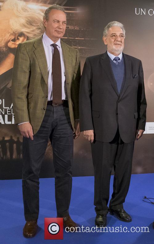 Placido Domingo and Bertin Osborne 6