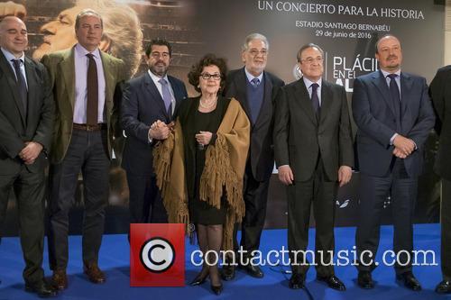 Placido Domingo, Bertin Osborne and Florentino Perez 10